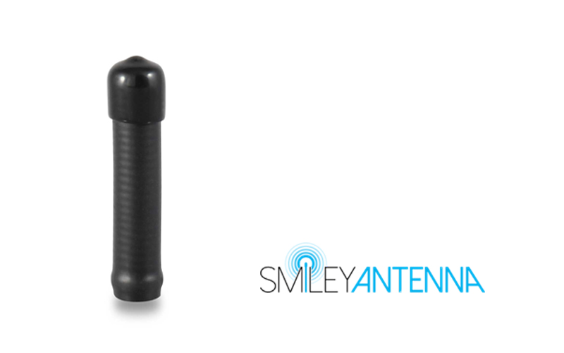Smiley Antenna Mini Rubber 220 mhz