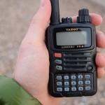 Handheld VX-6R in hand