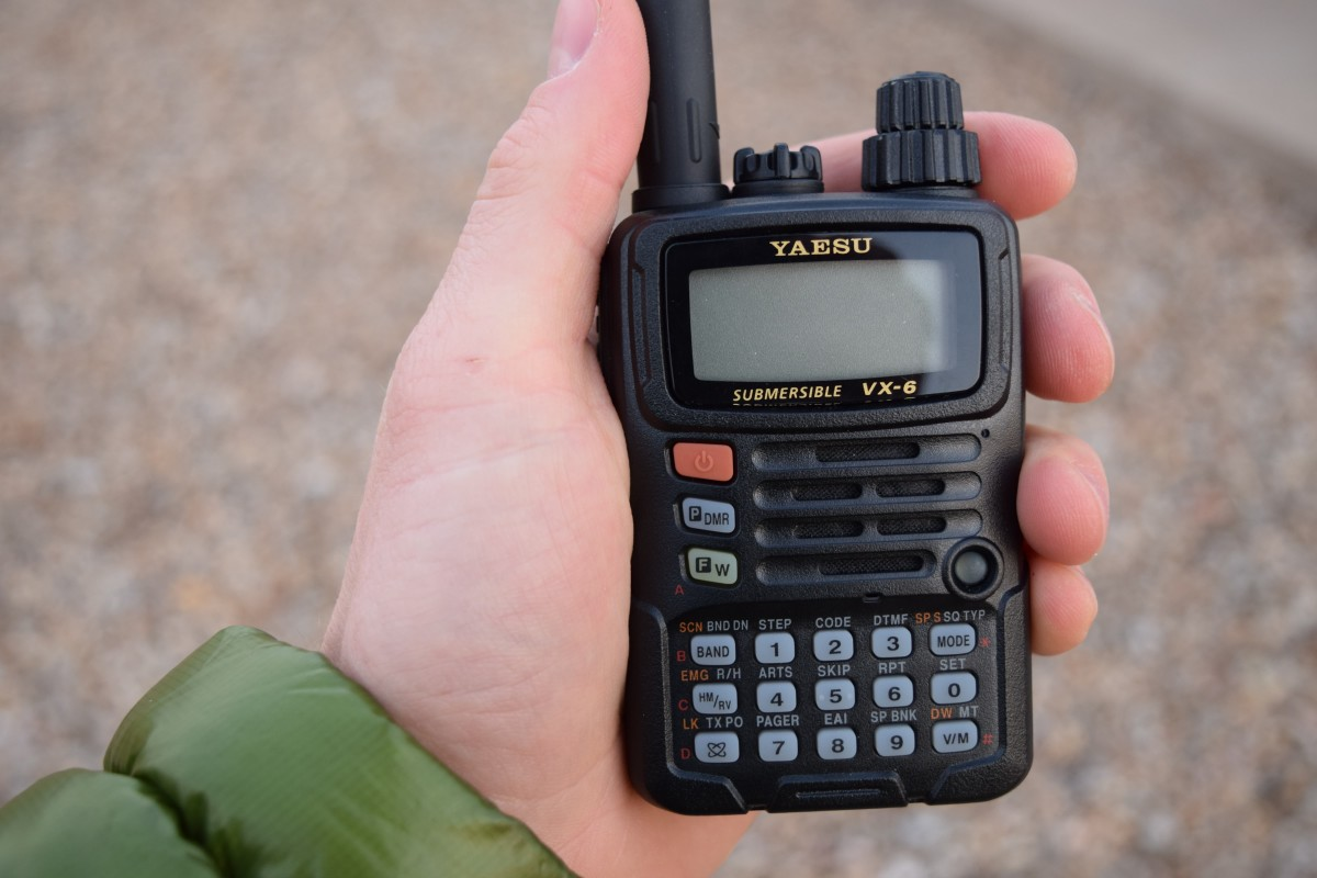 Yaesu VX-6R: The Heartiest of Handhelds – ARTech