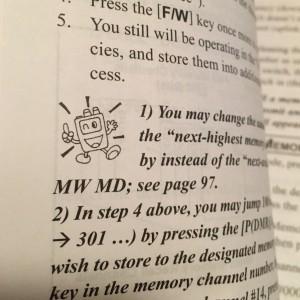 radio man icon for VX-6R instructions manual