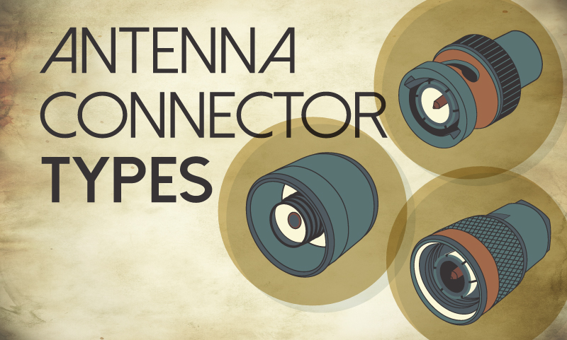 ARTech Antenna Connector Types Banner