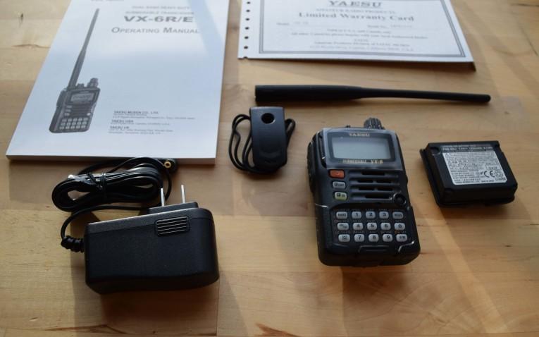 Yaesu VX-6R: The Heartiest of Handhelds – ARTech